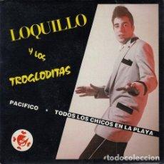 Discos de vinilo: LOQUILLO Y TROGLODITAS NO BAILES ROCK AND ROLL EN EL CORTE INGLES - SINGLE VINILO MOVIDA MADRILEÑA. Lote 140968549