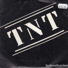 Discos de vinilo: TNT - CUCARACHAS - SINGLE VINILO MOVIDA MADRILEÑA - PUNK - COMPLETO CON INSERT. Lote 139517998