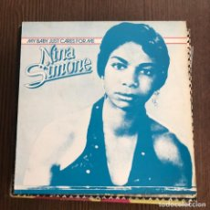 Discos de vinilo: NINA SIMONE . MY BABY JUST CARES FOR ME - MAXISINGLE GRIND 1988. Lote 139519946