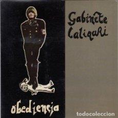 Discos de vinilo: GABINETE CALIGARI - OBEDIENCIA - SINGLE DE VINILO MOVIDA MADRILEÑA. Lote 139520430