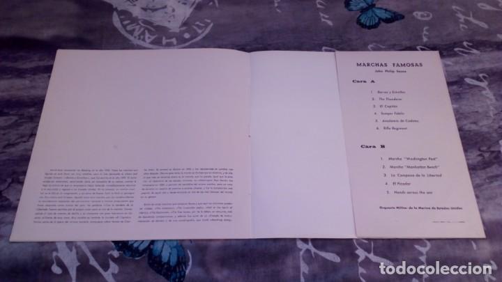 Discos de vinilo: MARCHAS FAMOSAS - Orquesta Militar de la Marina de Estados Unidos - Discorama D-3513 - Foto 3 - 139527142