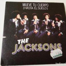 Discos de vinilo: THE JACKSONS- HASTA EL SUELO - SPAIN SINGLE 1978- MICHAEL JACKSON - VINILO COMO NUEVO.. Lote 139529286