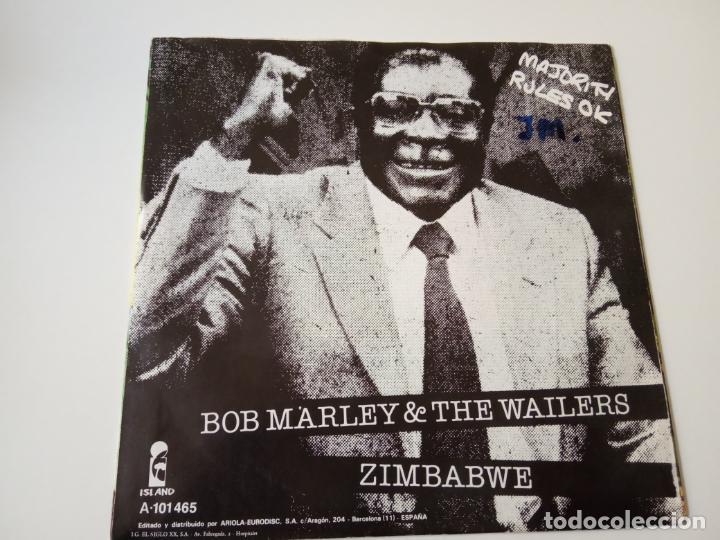 Discos de vinilo: BOB MARLEY- NO IMPORTA, QUE MAS DA - SPAIN SINGLE 1980 - VINILO COMO NUEVO. - Foto 2 - 139529446