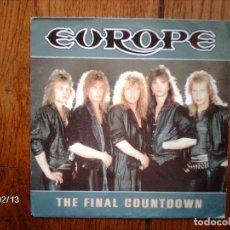 Discos de vinilo: EUROPE - THE FINAL COUNTDOWN + ON BROKEN WINGS . Lote 140986348