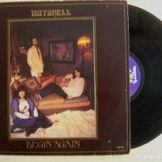 Discos de vinilo: NUTSHELL - BEGIN AGAIN - LP CON ENCARTE - UK 1978 - MYRRH. Lote 139544354