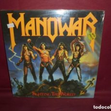 Discos de vinilo: LP MANOWAR - FIGHTING THE WORLD. Lote 139545010