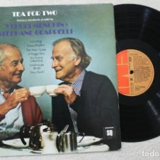 Discos de vinilo: YEHUDI MENUHIN & STEPHANE GRAPPELLI TE PARA DOS LP VINYL MADE IN SPAIN 1980. Lote 139549890