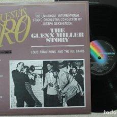 Discos de vinilo: GLENN MILLER STORY LP VINYL MADE IN SPAIN 1982. Lote 139553102