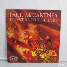 Discos de vinilo: PAUL MCCARTNEY. FLOWERS IN THE DIRT. LP VINILO. EMI ODEON 1989. VER FOTOGRAFIAS ADJUNTAS. Lote 139554310