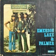 Discos de vinilo: LP. EMERSON LAKE & PALMER. EMERSON, LAKE & PALMER. (G+/VG). Lote 139554626