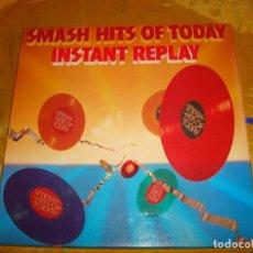 Discos de vinilo: SMASH HITS OF TODAY INSTANT REPLAY. CAJA CON 8 LP´S + LIBRETO . READER´S DIGESTS. IMPECABLES. Lote 139556094