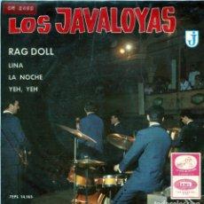 Discos de vinilo: LOS JAVALOYAS / RAG DOLL + 3 (EP 1965). Lote 139559778