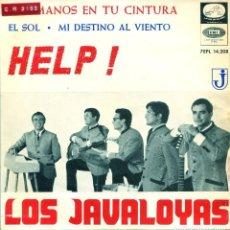 Dischi in vinile: LOS JAVALOYAS / HELP ! + 3 (EP 1965). Lote 197633015