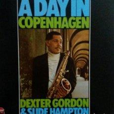 Discos de vinilo: DEXTER GORDON. A DAY IN COPENHAGEN.LP. Lote 139560402