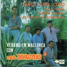 Discos de vinilo: LOS JAVALOYAS / CIA, CIAO, CIAO + 3 (EP 1967) IV FESTIVAL DE MALLORCA. Lote 139560574