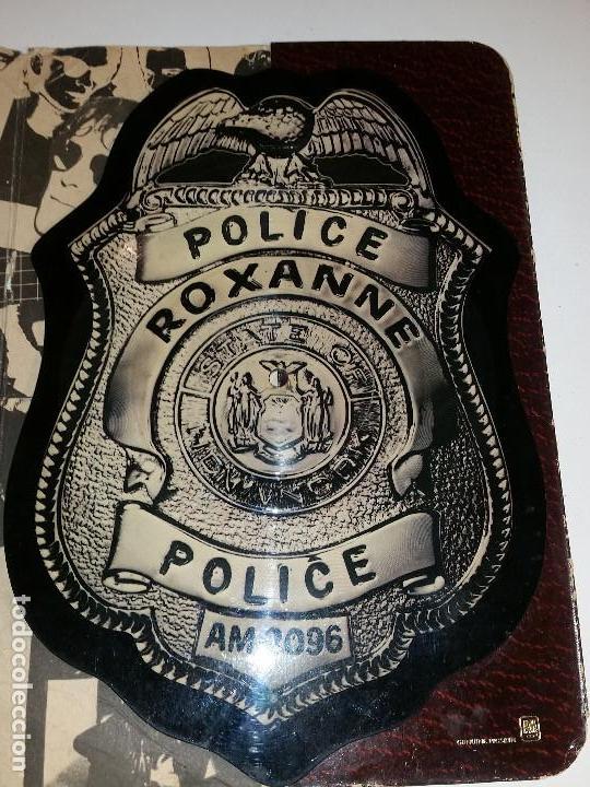 THE POLICE, PICTURE DISC, VINILO EN FORMA DE CHAPA DE POLICIA, PIEZA RARA ! (Música - Discos de Vinilo - Maxi Singles - Pop - Rock - New Wave Extranjero de los 80)