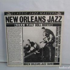 Discos de vinilo: NEW ORLEANS JAZZ BAND. N.O.R.K. JELLY ROLL MORTON. LP VINILO. 1983. VER FOTOGRAFIAS ADJUNTAS. Lote 139564070
