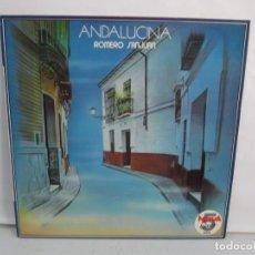 Discos de vinilo: ANDALUCINA. ROMERO SANJUAN. LP VINILO. 1984. RCA. VER FOTOGRAFIAS ADJUNTAS. Lote 139565722
