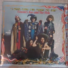 Discos de vinilo: LP COUNTRY JOE AND THE FISH - I-FEEL-LIKE-I'M-FIXIN'-TO-DIE . Lote 139570690