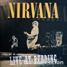 Discos de vinilo: DOBLE LP NIRVANA - LIVE AT READING / VINILO / ED. OFICIAL UK, USA Y EUROPA 2009 / NUEVO. Lote 139570902