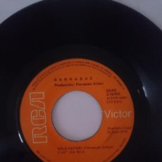Discos de vinilo: BARRABAS -- WILD SAFARI - ROCK AND ROLL EVERYBODY --AÑO 1972 -REFM1E4BOES132DISIN. Lote 139573462