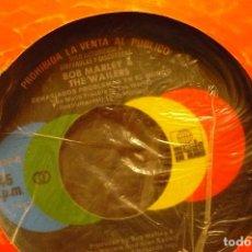 Disques de vinyle: BOB MARLEY & THE WAILERS -- DEMASIADOS PROBLEMAS EN EL MUNDO, PROMO, ARIOLA, 1979.. Lote 139579306