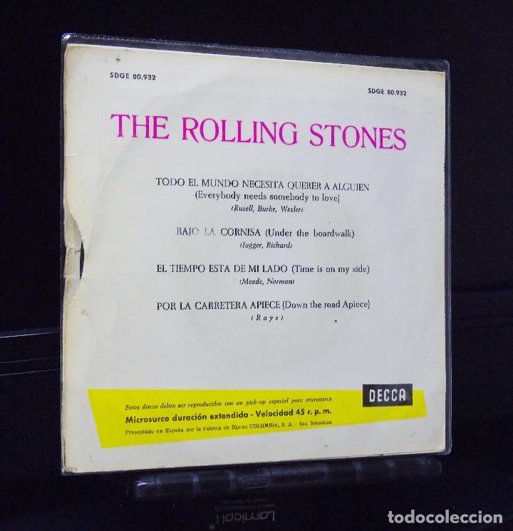 THE ROLLING STONES ---EVERYBODY NEEDS SOMEBODY TO LOVE -- ORIGINAL 1ª  EDICION AÑO 1965 --SDGE 80 932