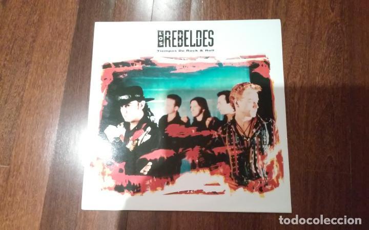 LOS REBELDES-TIEMPOS DE ROCK & ROLL.LP (Música - Discos - LP Vinilo - Grupos Españoles de los 90 a la actualidad)