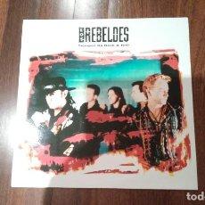 Discos de vinilo: LOS REBELDES-TIEMPOS DE ROCK & ROLL.LP. Lote 139589942