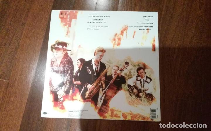 Discos de vinilo: Los rebeldes-tiempos de rock & roll.lp - Foto 2 - 139589942