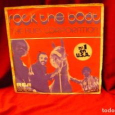 Discos de vinilo: HUES CORPORATION -- ROCK THE BOAT / ALL GOIN' DOWN TOGETHER, RCA, 1974.. Lote 139594702