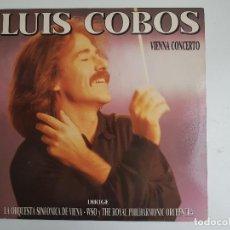 Discos de vinilo: LUIS COBOS - VIENNA CONCERTO (VINILO). Lote 139597842