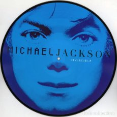 Discos de vinilo: LP MICHAEL JACKSON - INVINCIBLE 2LP PICTURE DISC. Lote 139599182