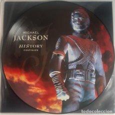 Discos de vinilo: LP MICHAEL JACKSON - HISTORY CONTINUES 2LP PICTURE DISC. Lote 139599234