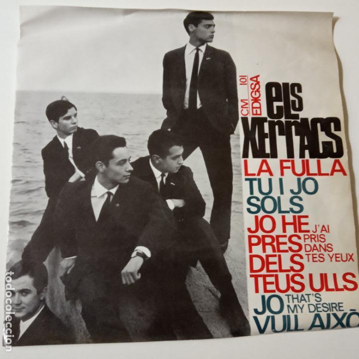 ELS XERRACS- LA FULLA +3- TOTI SOLER- EP 1965- EXC. ESTADO. (Música - Discos de Vinilo - EPs - Pop - Rock Internacional de los 50 y 60)
