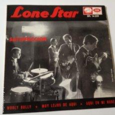 Discos de vinilo: LONE STAR- SATISFACCION- EP 1965- VINILO EXC. ESTADO.. Lote 139601726