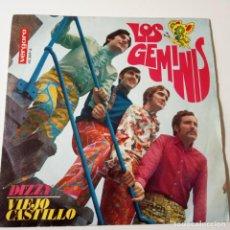 Discos de vinilo: LOS GEMINIS- DIZZY- SINGLE 1969- VINILO COMO NUEVO.. Lote 249612585