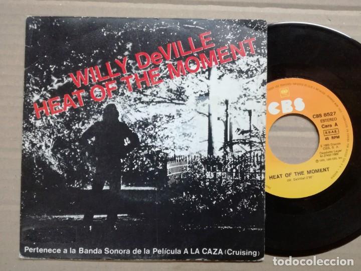 CRUISING-WILLY DE VILLE,HEAT OF DE MONENT.BANDA SONORA A LA CAZA. RARO.. (Música - Discos - Singles Vinilo - Bandas Sonoras y Actores)