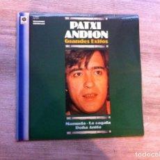 Discos de vinilo: PATXI ANDION. GRANDES ÉXITOS (LP) 1981. Lote 139609514