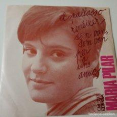 Discos de vinilo: MARIA PILAR- EL PALLASSO - EP 1969 + ENCARTE- EXC. ESTADO.. Lote 139610710