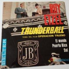 Discos de vinilo: ROY ETZEL- THUNDERBALL- SPAIN EP 1966.. Lote 139611618
