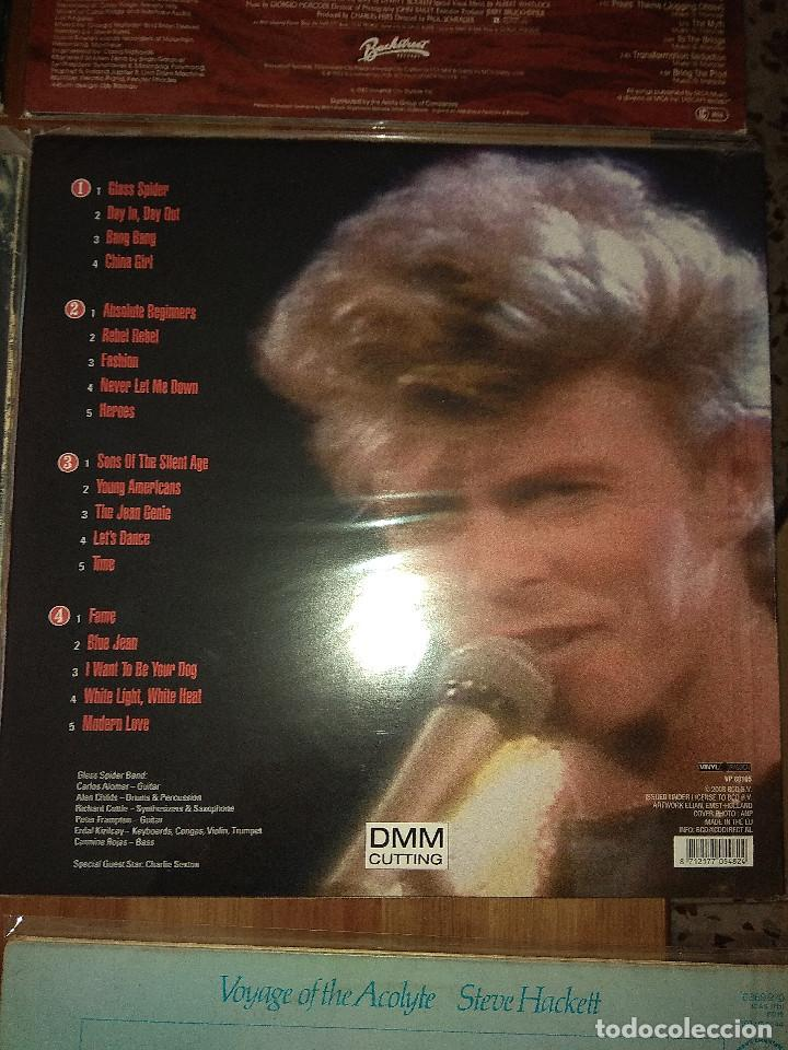 Lote de discos david bowie peter gabriel steve - Sold at