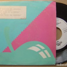 Discos de vinilo: LOS SABROSOS DEL MERENGUE - POR CULPA DE LA BEBIDA - SINGLE PROMOCIOAL 1991 - MANZANA. Lote 139617110
