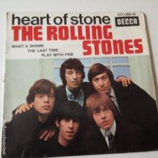Discos de vinilo: THE ROLLING STONES- HEART OF STONE- SPAIN EP 1965.. Lote 139618534