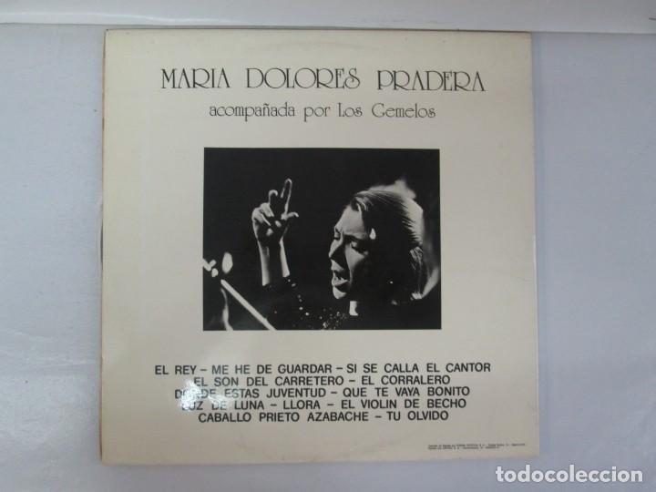 Discos de vinilo: MARIA DOLORES PRADERA. LP VINILO. LOTE 10 DISCOS. ZAFIRO. VER FOTOGRAFIAS ADJUNTAS - Foto 4 - 139619358