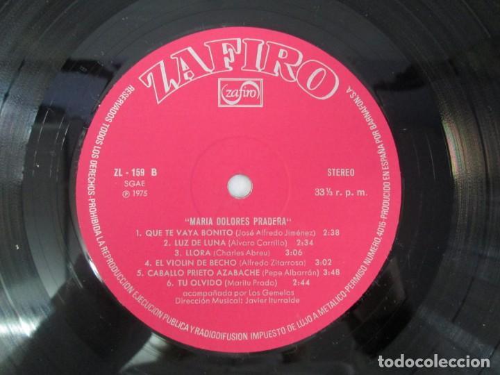 Discos de vinilo: MARIA DOLORES PRADERA. LP VINILO. LOTE 10 DISCOS. ZAFIRO. VER FOTOGRAFIAS ADJUNTAS - Foto 7 - 139619358