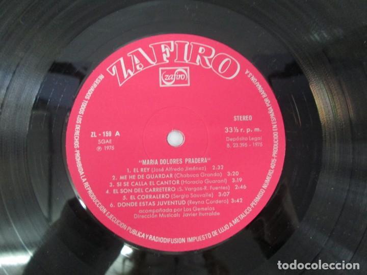 Discos de vinilo: MARIA DOLORES PRADERA. LP VINILO. LOTE 10 DISCOS. ZAFIRO. VER FOTOGRAFIAS ADJUNTAS - Foto 9 - 139619358