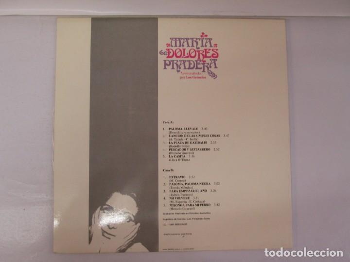 Discos de vinilo: MARIA DOLORES PRADERA. LP VINILO. LOTE 10 DISCOS. ZAFIRO. VER FOTOGRAFIAS ADJUNTAS - Foto 12 - 139619358