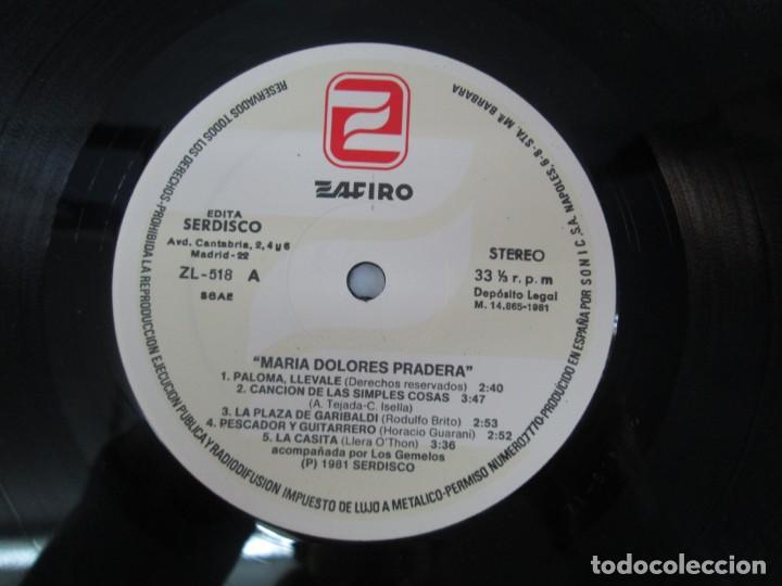 Discos de vinilo: MARIA DOLORES PRADERA. LP VINILO. LOTE 10 DISCOS. ZAFIRO. VER FOTOGRAFIAS ADJUNTAS - Foto 15 - 139619358