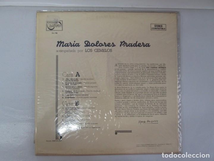 Discos de vinilo: MARIA DOLORES PRADERA. LP VINILO. LOTE 10 DISCOS. ZAFIRO. VER FOTOGRAFIAS ADJUNTAS - Foto 28 - 139619358